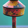 Psychedelic Flower Power Lamp with Sad History