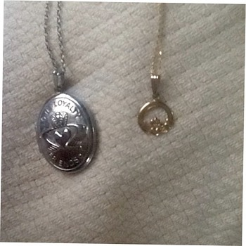 Claddaugh locket and pendant  - Fine Jewelry
