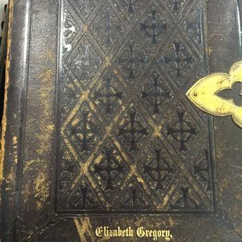 Antique Bible 1872