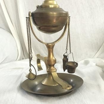 Oil Lamp - Lamps