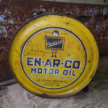 EN-AR-CO 5 gallon rocker can - Petroliana