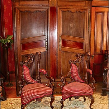 Antique Chairs & Armoire  - Furniture