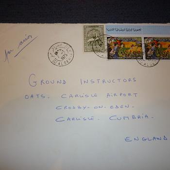 Algerian/Iraqi stamps 1975