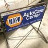 1972 Napa double sided sidewalk sign