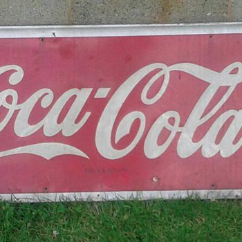 My Dad's Coca Cola sign