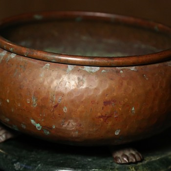 Bronze Bowl - Russian? - Arts and Crafts