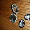 Paste Rhinestone earrings?