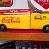Great Vintage Wooden Coca-Cola Toy Truck