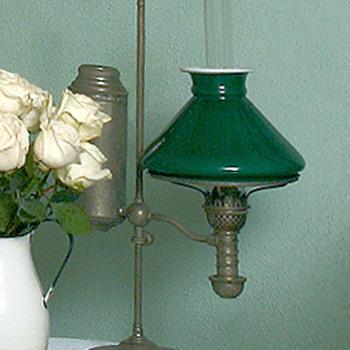 "Kerosene ""Student Lamp"" from Great Grandparents' Home  - Lamps"