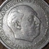 Maybe the rarest 1957 5 PTAS coin around