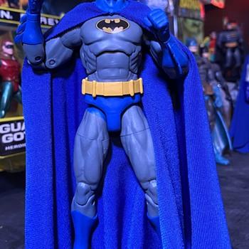 Batman Dc Essentials Custom cape  - Toys