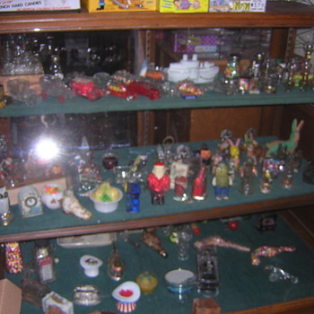Candy container collection - Bottles