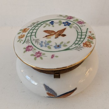 """Limoges"" Box - Unsigned but Numbered? - China and Dinnerware"