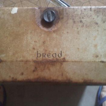 My parents 1957 Wedding Gift, a Havell Breadbox - Kitchen