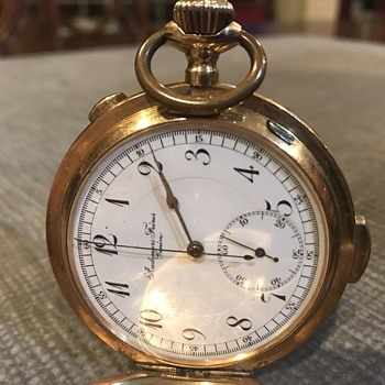 Gold pocket watch - Pocket Watches