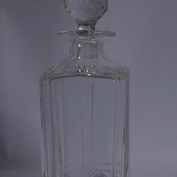 Stuart Crystal Woodchester Spirit Decanter - Art Glass