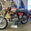 1974 East German OMZ motor bike