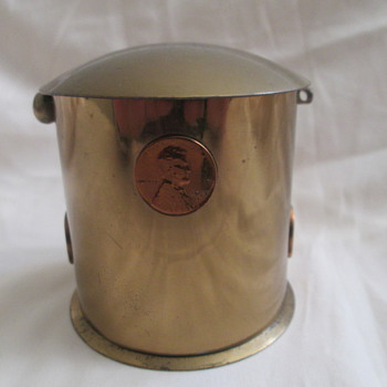 Brass Penny Bank? - Coin Operated
