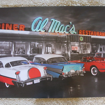 Cool poster - Classic Cars