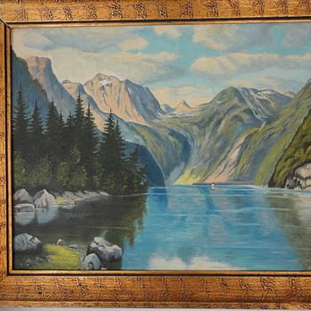 1950's original painting