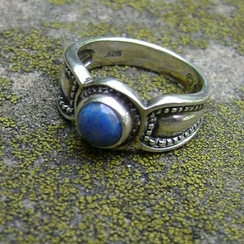 Lapis Silver Ring - Fine Jewelry