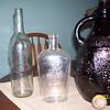 emile gluck bottle ,1940 or before brown jug