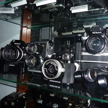 The collection  - Cameras