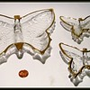 1950's//1960's JEANETTE - Butterfly Glass Dishes (or Jeannette )