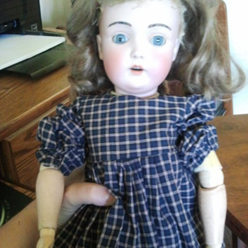 German Bisque Doll - Dolls