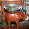 Elephant fish tank