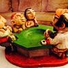 Casino gift shop refugee-Prelude Creations Esco like Chalkware Ashtray