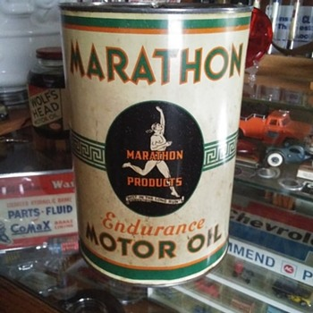 5 quart oil cans - Petroliana