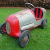 1950s Tri-ang Brooklands Racer Pedal Car