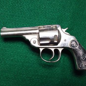 Iver Johnson Revolver inkwell - Office
