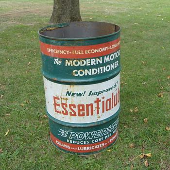 30 gallon essiential lube - Petroliana