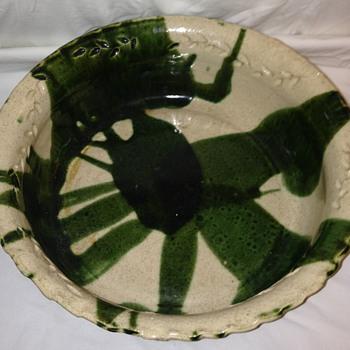 HUGE pottery bowl