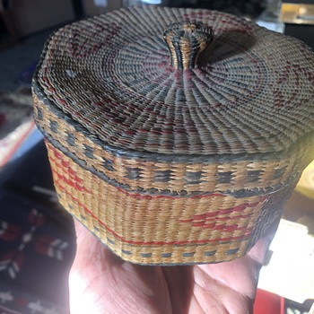Northwest Native baskets. - Native American