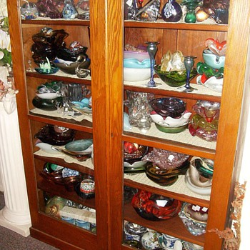 My China Cabinet  -- Age ???  Info ??? (( 1 of 2 )) - Furniture