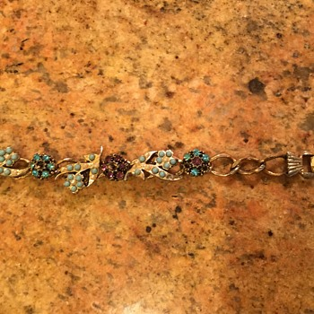 Back of both items - Costume Jewelry
