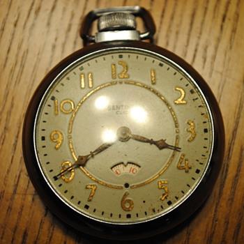 1957 E Ingraham Sentinel Pocket Watch - Pocket Watches