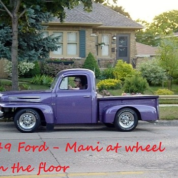 My 1949 Ford Truck - Low rider  - Classic Cars