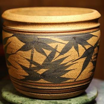 Diamond Sutra Pottery '75 - flower pot - Pottery