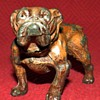 Vintage  Spelter English Bulldog