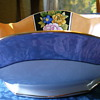 Noritake Export Japanese Lustreware Oval Bowl circa 1924 Pattern Unknown