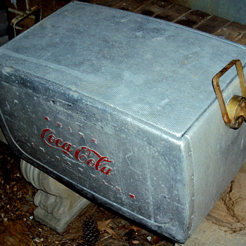 Coca Cola Aluminum Cooler Info Needed - Coca-Cola