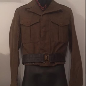 Post-WWII Seaforth Highlanders Battle Dress - Military and Wartime