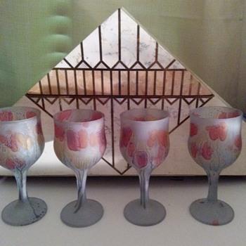 HEBRON GLASS - Glassware