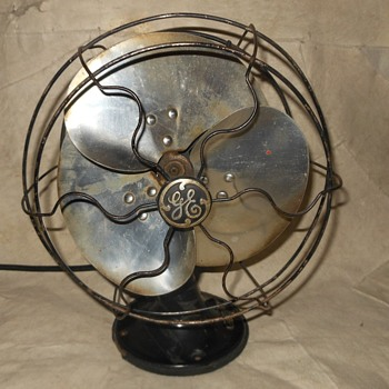 GE Quiet Fan Model 55X165 1937 Vintage Electric Fan - Tools and Hardware