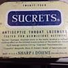 Sucrets,  secrets or De Witts half witt