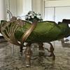 Art Nouveau Bowl with Brass Base
